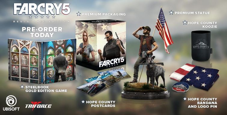 far cry 5 collector's edition
