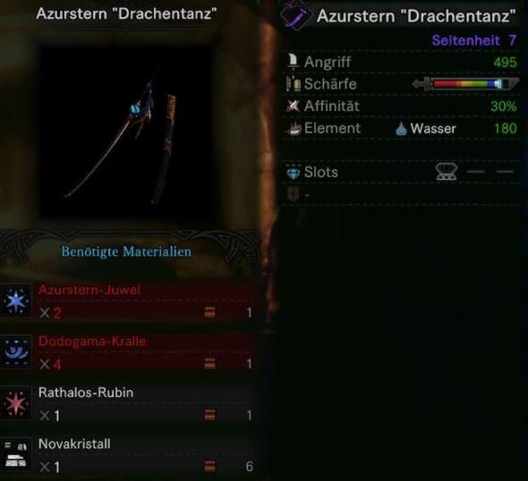 Azurstern-Drachentanz