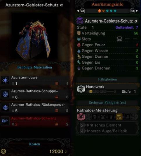 Azurstern-Gebieter-Schutz