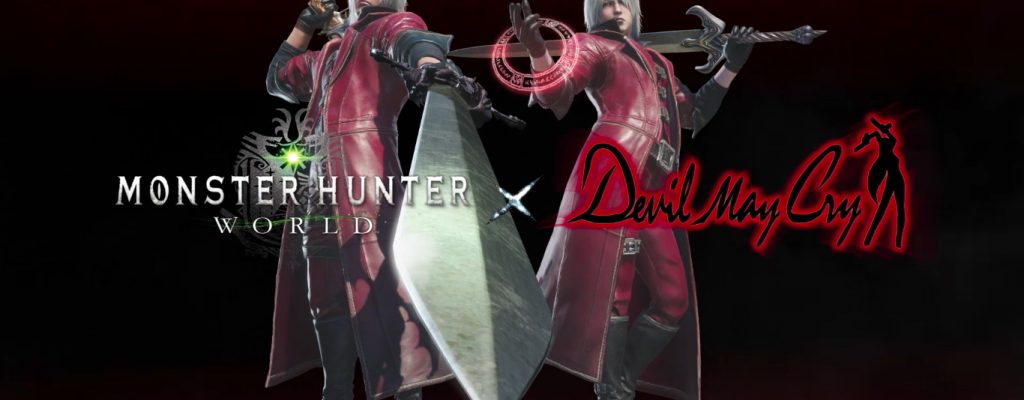 "So wirst Du jetzt in Monster Hunter World zu Dante aus ""Devil May Cry"""