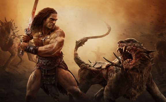 Conan Exiles Conan vs Viech
