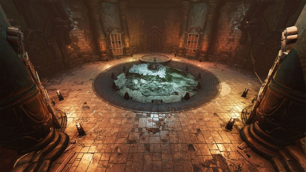 Conan Exiles Dungeon with Well