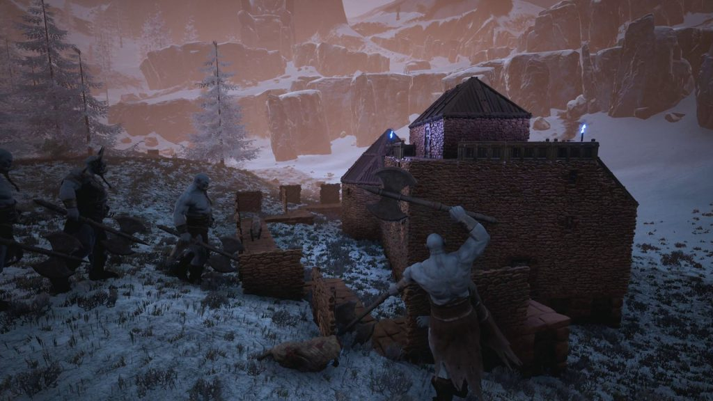 Conan Exiles Frost Giant Invasion