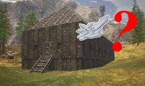 Conan Exiles Langhaus aus schwarzem Eis Eisscherben Titel 2