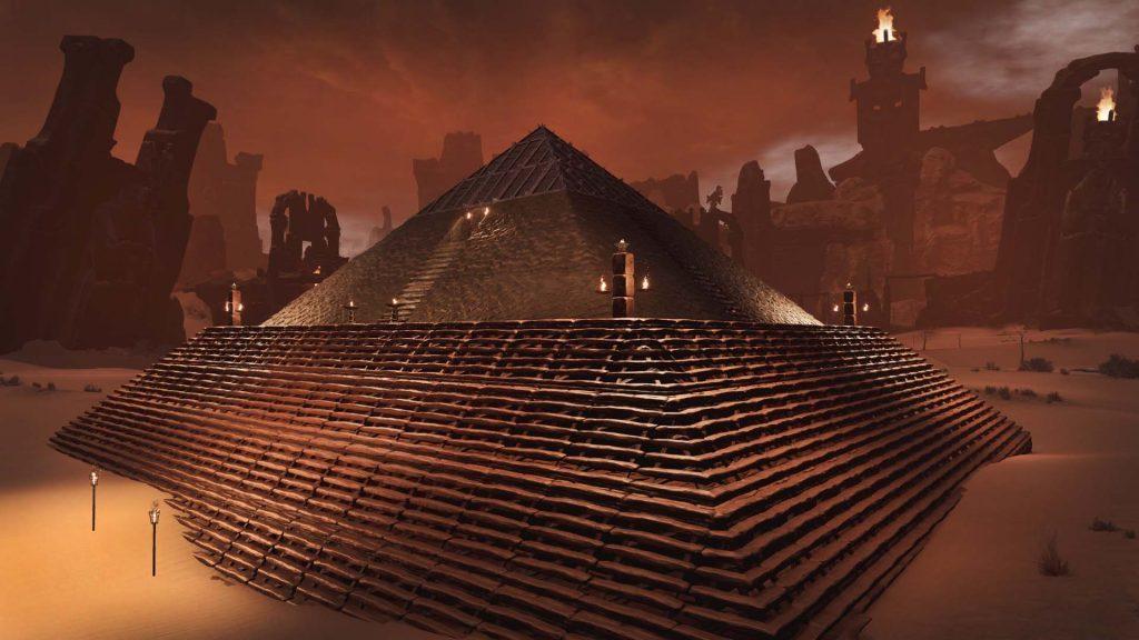 Conan Exiles Pyramide
