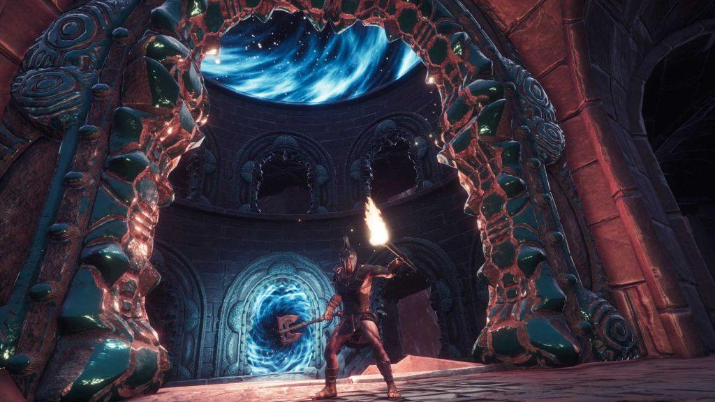 Conan Exiles Screenshot Volcano