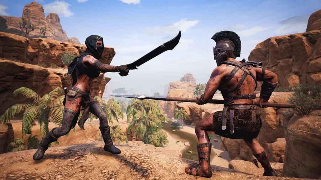 Conan Exiles Waffen Kampf