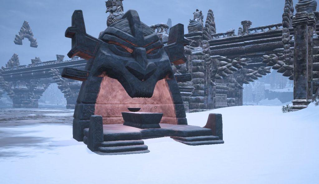 Conan Exiles erhabener Altar von Ymir