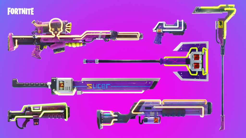 Cyberpunk-Waffen
