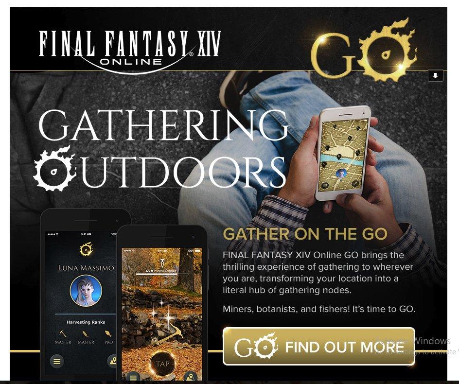 final fantasy xiv online go concept
