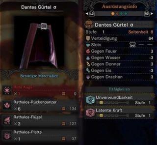 Dantes-Gürtel