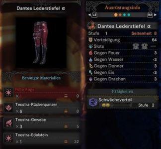 Dantes-Lederstiefel
