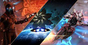 Destiny Elite Dangerous Warframe Mashup Titel