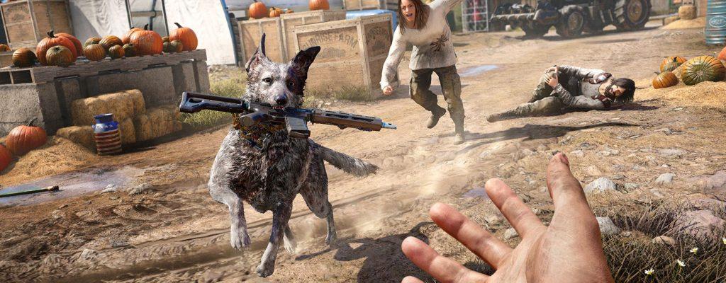 So findet Ihr die 3 Tier-Begleiter in Far Cry 5 und setzt sie richtig ein
