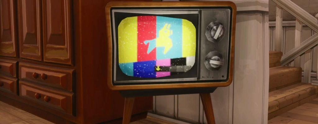 Fortnite: Lama-TVs senden Morse-Code und Kometen schlagen ein