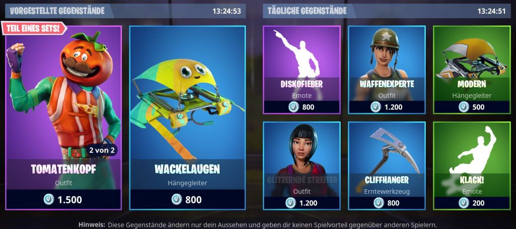 Fortnite-Shop
