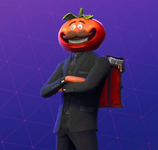 Der Tomatenkopf Skin F 252 R Fortnite Ist Im Shop Und Er Ist