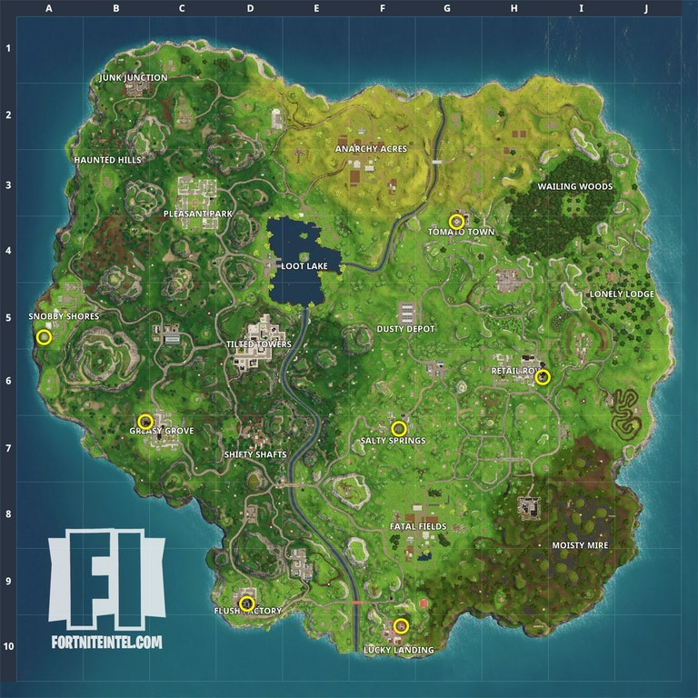 Fortnite Zwerge Map