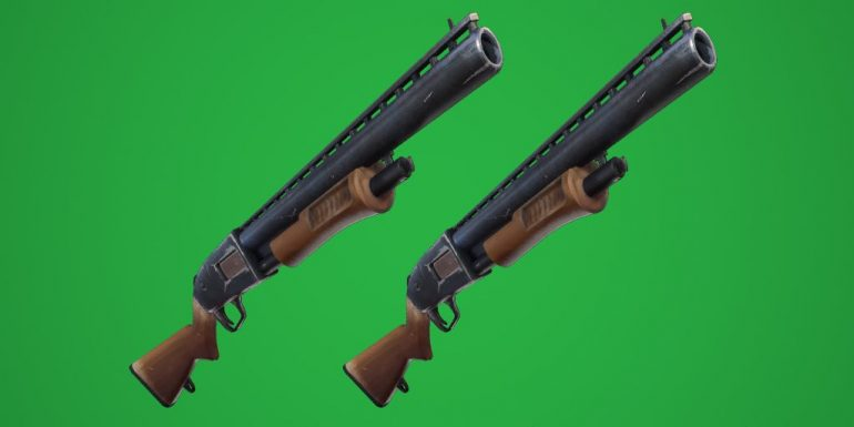 Fortnite-doppel-Shotgun