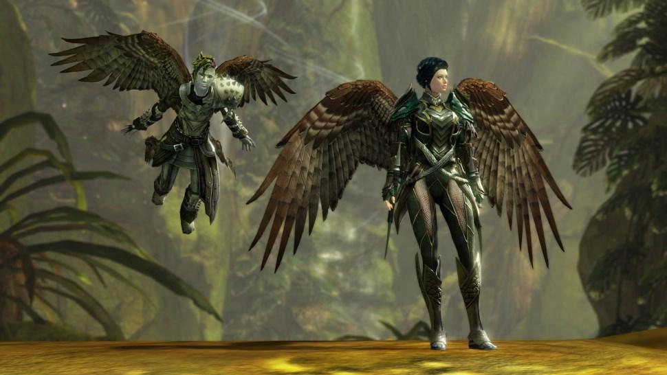 Guild Wars 2 Wings