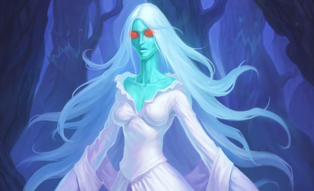 Hearthstone Lady in White Art Small