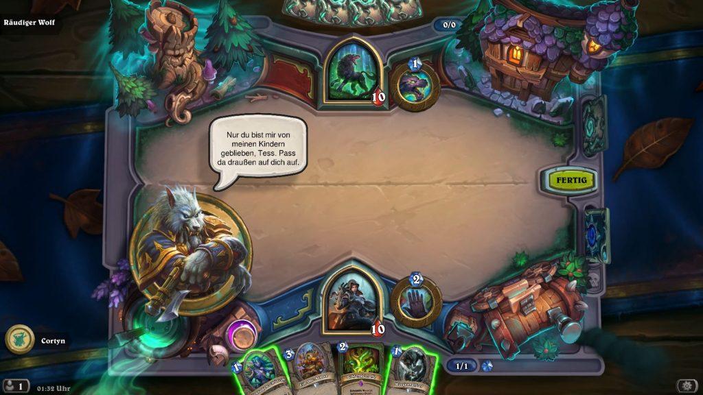 Hearthstone Monsterhunt Gameplay