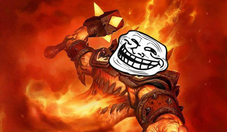 Hearthstone Ragnaros Trollface
