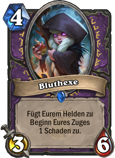 Hearthstone Witchwood Bluthexe