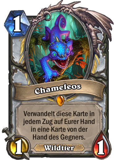 Hearthstone Witchwood Chameleos