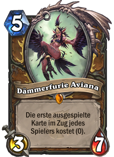 Hearthstone Witchwood Daemmerfure Aviana