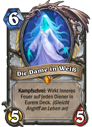 Hearthstone Witchwood Dame in weiss