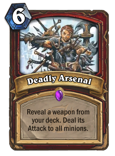Hearthstone Witchwood Deadly Arsenal
