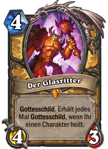 Hearthstone Witchwood Glasritter
