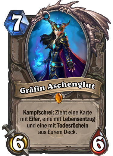 Hearthstone Witchwood Graefin Aschenglut