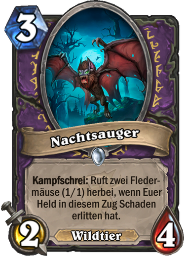Hearthstone Witchwood Nachtsauger
