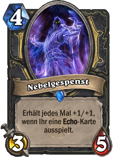 Hearthstone Witchwood Nebelgespenst