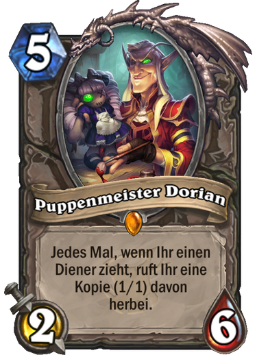 Hearthstone Witchwood Puppenmeister Dorian
