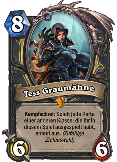 Hearthstone Witchwood Tess Graumaehne
