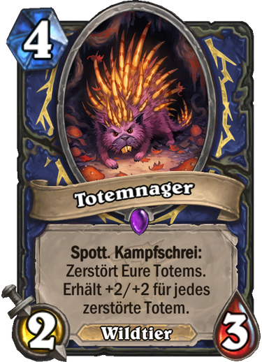 Hearthstone Witchwood Totemnager