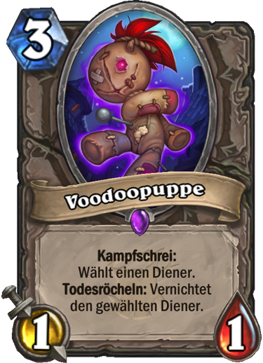 Hearthstone Witchwood Voodoopuppe