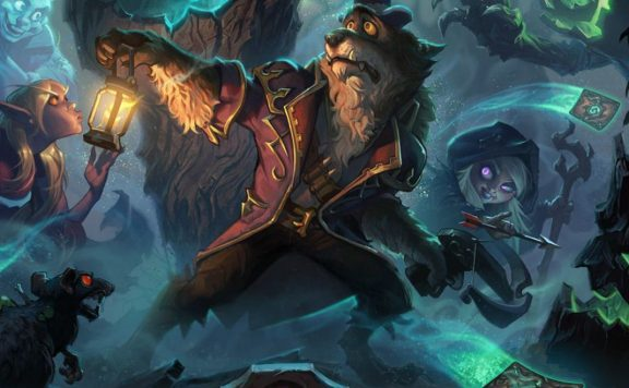 Hearthstone Witchwood Worgen Artwork