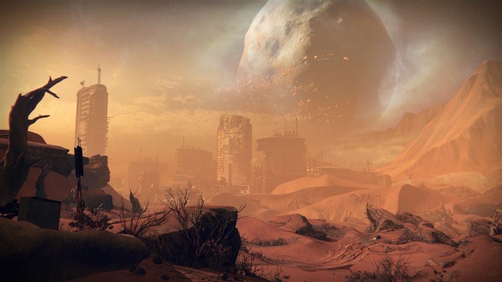 Mars Phobos Destiny 1
