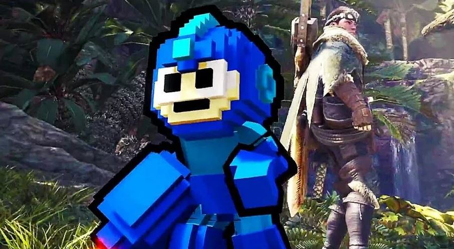 Monster-Hunter-World-Mega-Man