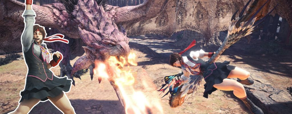 Für Sakura musst Du in Monster Hunter World die Rosa Rathian töten