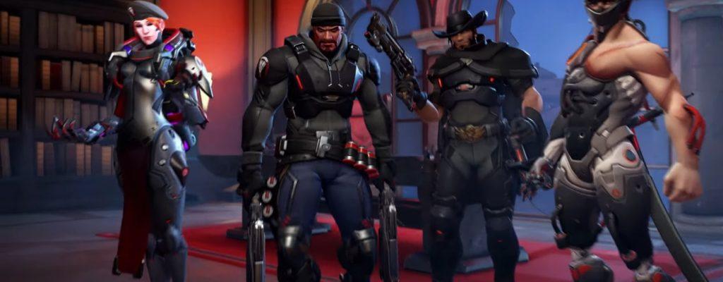 """In Overwatch: Archives """"Vergeltung"""" spielt ihr ein Blackwatch-Attentat"""