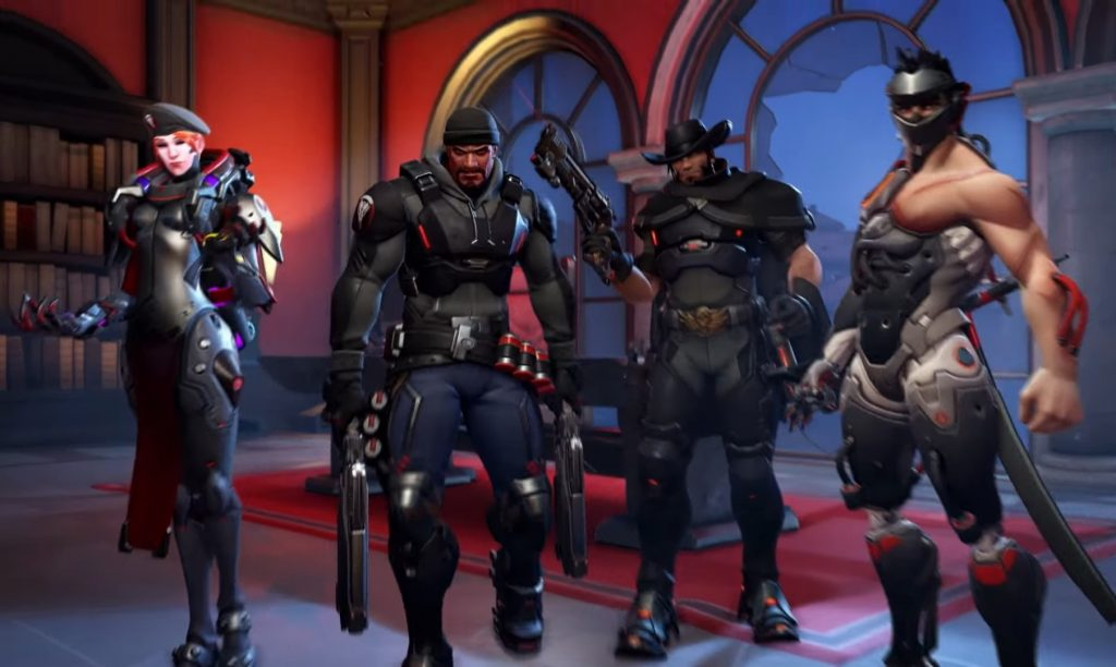 Overwatch Blackwatch Cool Guys dont look at the camera or maybe they do