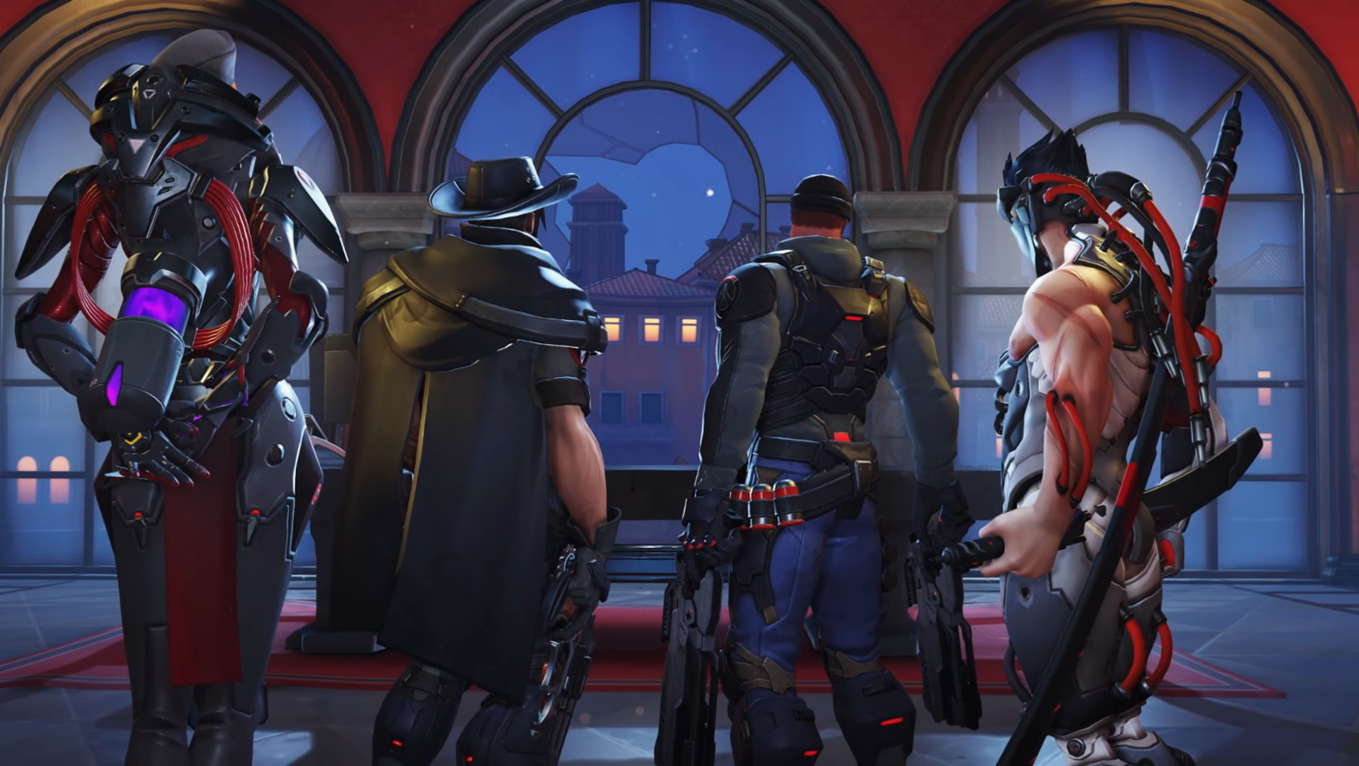 Overwatch Blackwatch Cool Guys dont look at the camera