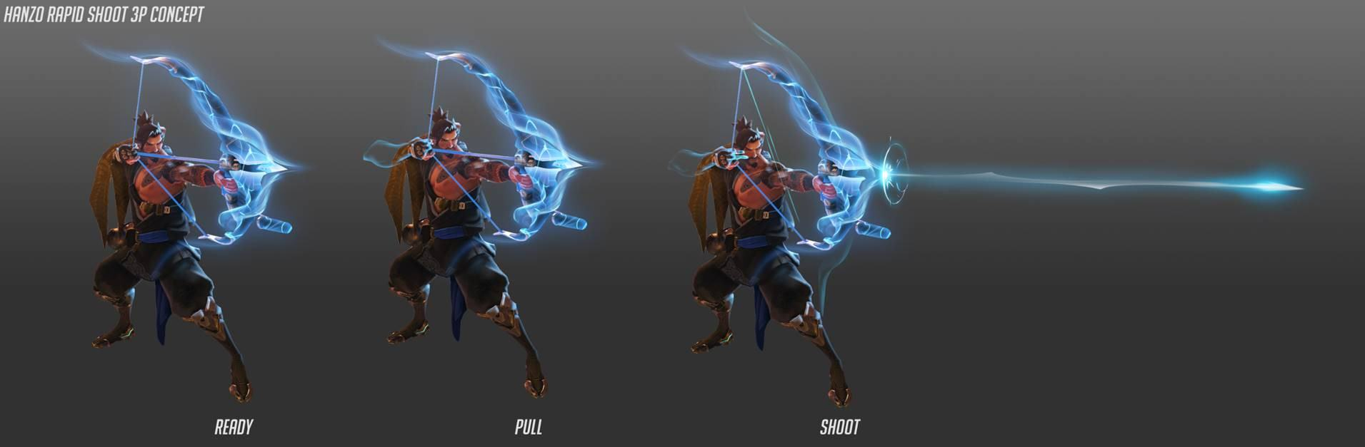 Overwatch Hanzo Sonarpfeil Artwork