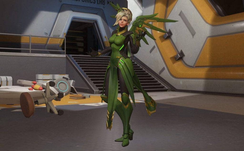 Overwatch Mercy Shrug Emote Kein Puls