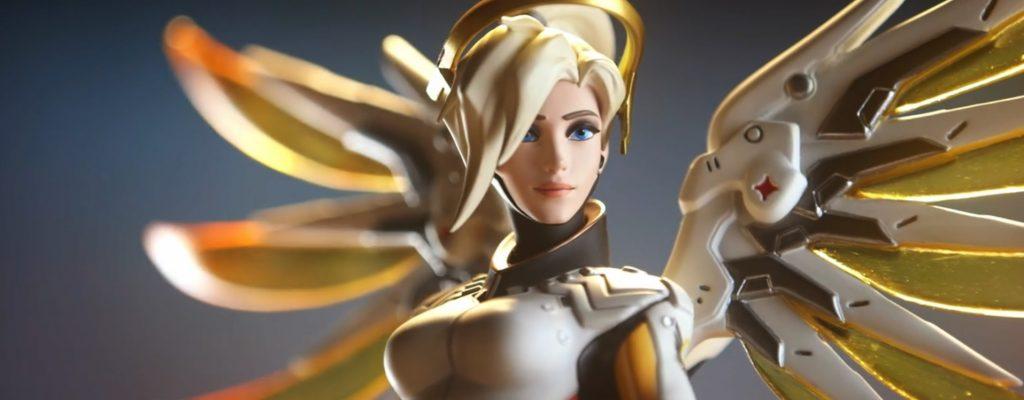 Overwatch stellt neue Statue vor – Eine Privat-Mercy für zuhause